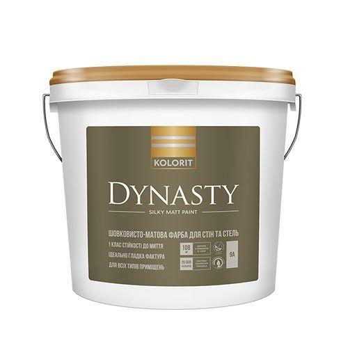 Kolorit Dynasty -  латексная краска на акрилатной основе для внутренних работ.