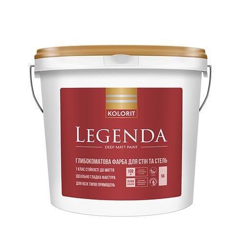 Kolorit Legenda - латексная краска на акрилатной основе