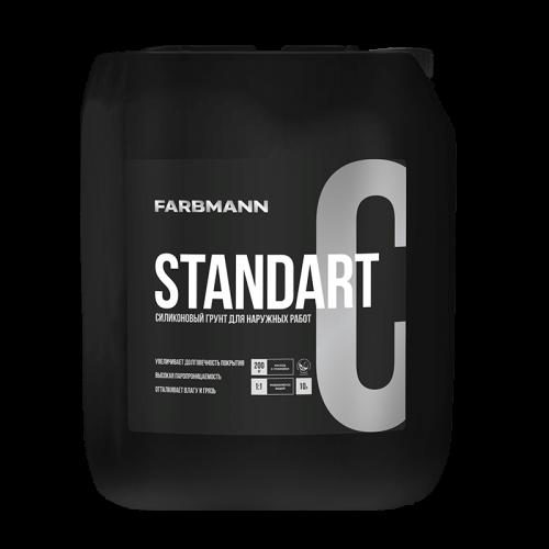 Farbmann Standart C - силиконовый грунт для наружных работ