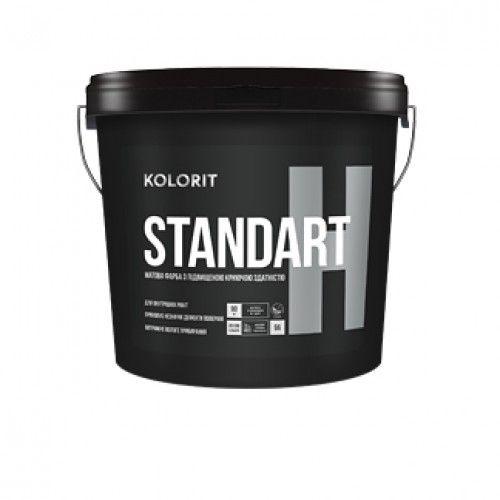 Kolorit Standart Н - матовая краска на акрилатной основе