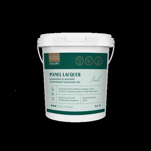 Kolorit Panel Lacquer - шелковисто-матовый акриловый панельный лак