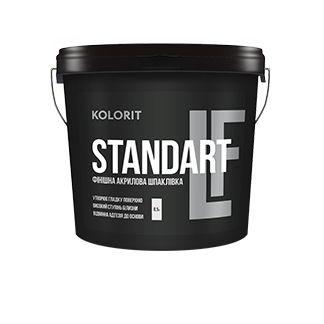 Kolorit Standart LF - финишная акриловая шпаклёвка