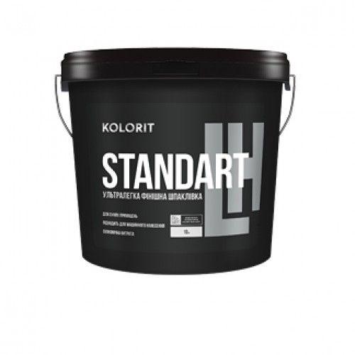 Kolorit Standart LH - ультралёгкая финишная акрилатная шпаклёвка.