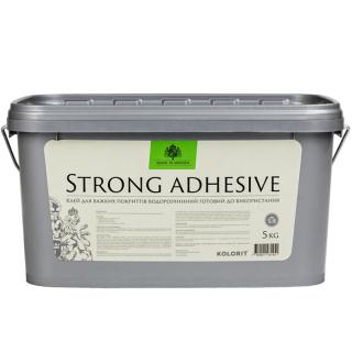 Kolorit Strong Adgesive - клей для тяжелых покрытий водорастворимый готовый к использованию