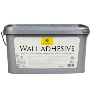 Kolorit Wall Adhesive - клей для обоев водорастворимый готовый к использованию.